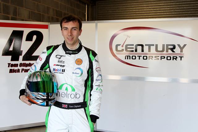 tom oliphant century motorsport
